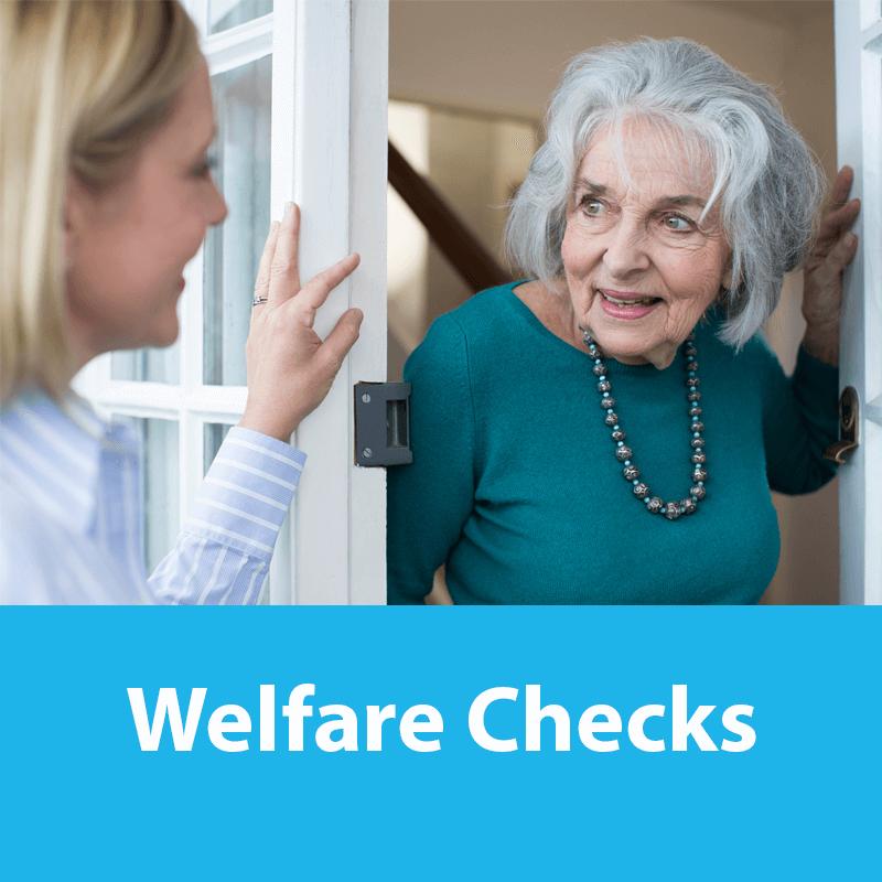 Welfare check
